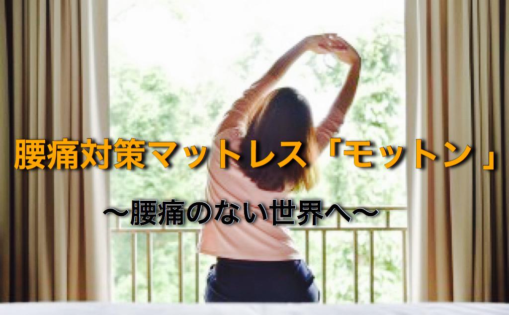 「モットン」〜腰痛のない世界へ〜